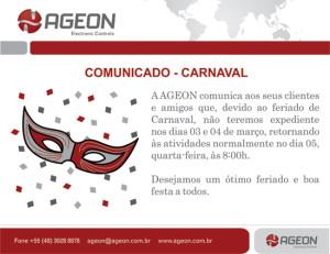 Horário de Carnaval