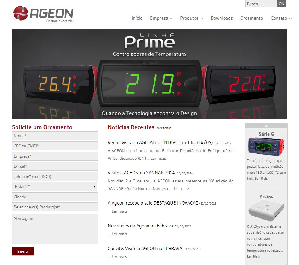 Novo Site - Ageon