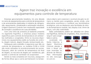 Ageon na Revista Frigorífico