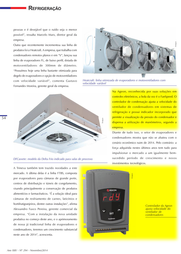 FanSpeed é destaque na Revista do Frio e no mercado de condensadores