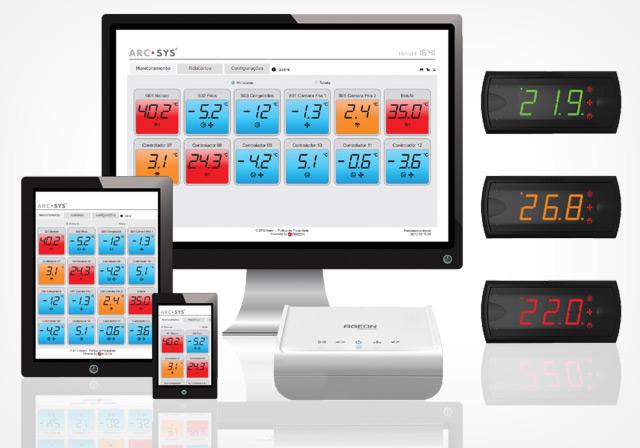 Sistema de Monitoramento ArcSys - Ageon Electronic Controls