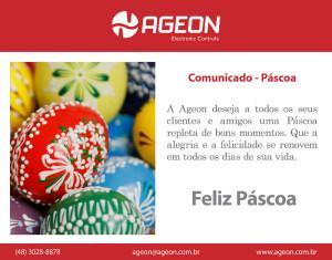 A Ageon lhe deseja uma Feliz Páscoa