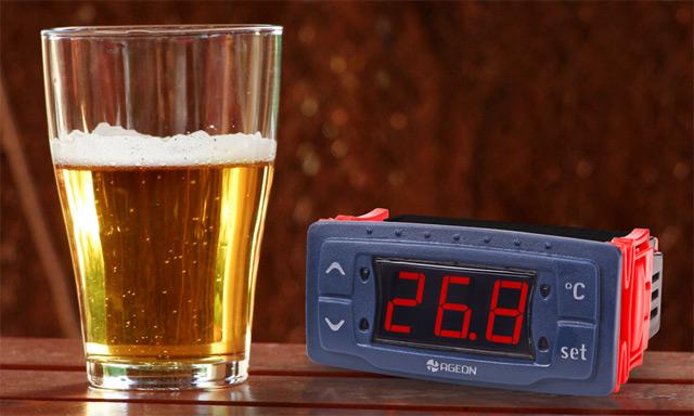 Termostato para fabricação de cerveja