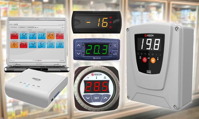 Controladores de Temperatura Ageon em Supermercados