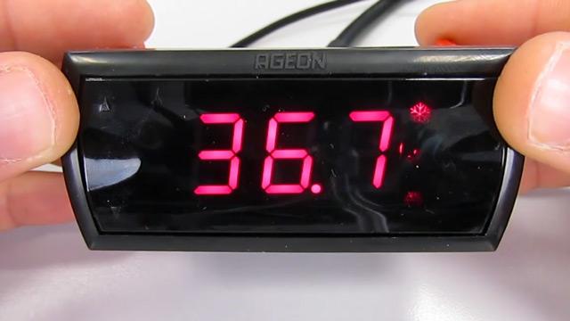 Vídeo controlador K103 PID para chocadeiras