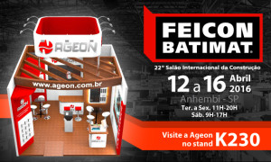Esperamos você na FEICON BATIMAT 2016