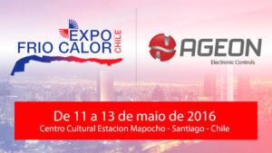 Ageon confirmada na Expo Frio Calor Chile