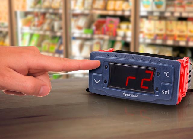 Controladores de temperatura - Configurar Parâmetros Iniciais