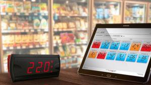 Controladores de Temperatura para Refrigeração Comercial
