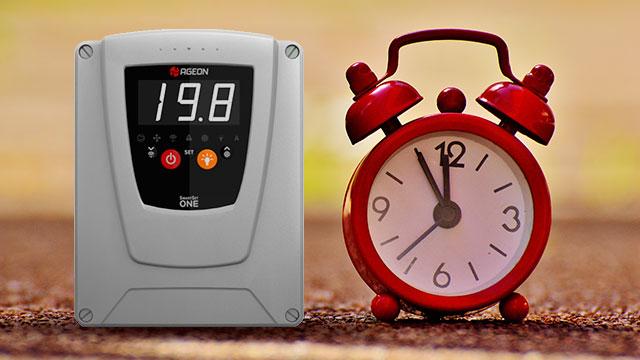 Controladores de temperatura com relógio em tempo real