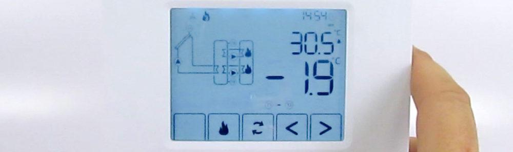 Como configurar o controlador de temperatura SolarTouch SL2