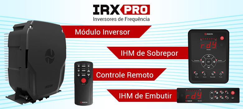 Inversores de Frequência IRX PRO