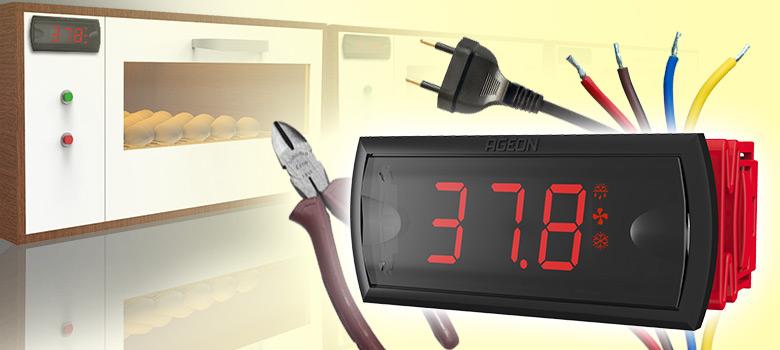 Como instalar o termostato na Chocadeira