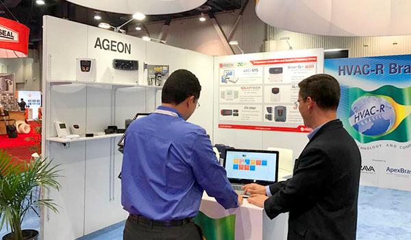 Sistema de Monitoramento ArcSys na AHR EXPO Las Vegas