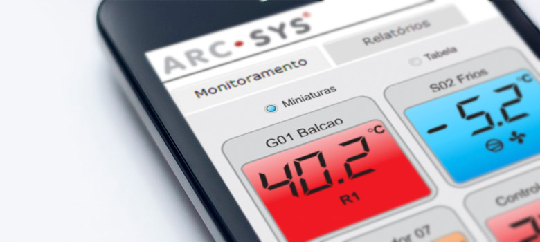 Sistema de Monitoramento ArcSys