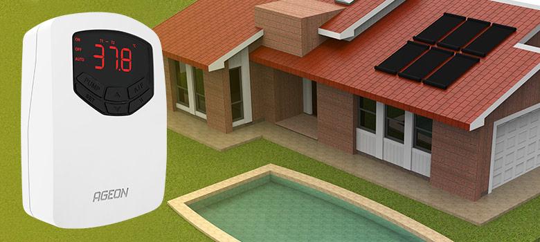 AutomaSol para sistemas de aquecimento solar – Função Arrefecimento