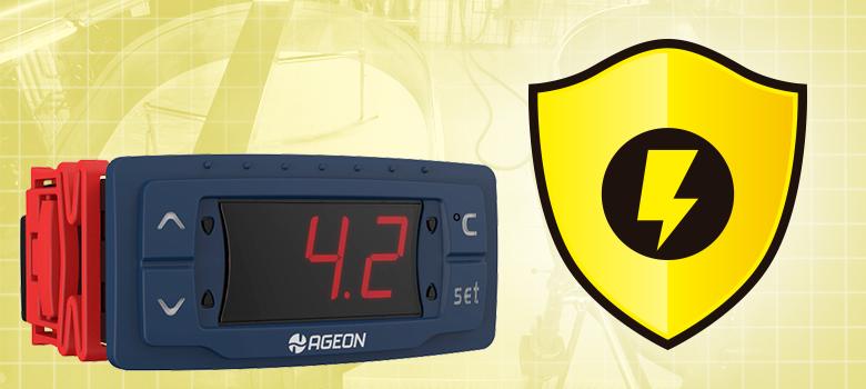 Como configurar o Monitor de Tensão em um Termostato Digital
