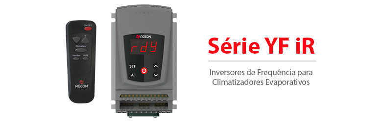 Série YF iR - Inversores de Frequência para Climatizadores