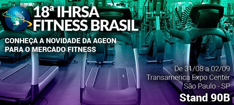Visite a Ageon na IHRSA Fitness Brasil 2017