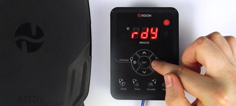 Como configurar o inversor de frequência IRX Pro para Climatizadores