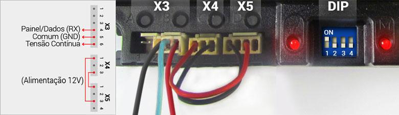 IEX70 - Inversor de Frequência para Esteira Ergométrica - Modo Serial