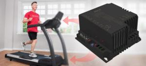 Ligação dos inversores IEX70 ao painel da Esteira Ergométrica