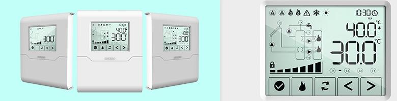 Controladores SolarTouch para Aquecimento Solar