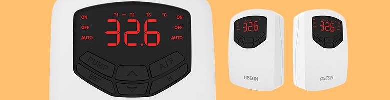 Linha AutomaSol de Controladores para Aquecimento Solar