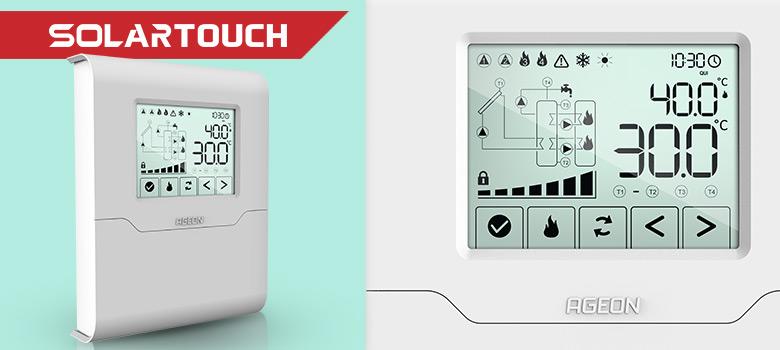 Dicas básicas sobre o controlador SolarTouch para Aquecimento Solar