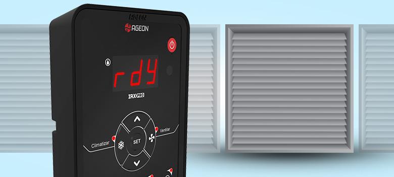 Conhecendo a IHM do inversor de frequência IRX Pro para Climatizador