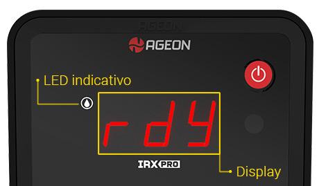 Display IHM - Inversor de Frequência IRX Pro