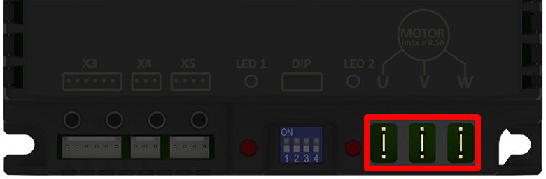 Ligando o Motor - Testando inversor IEX70 para esteira ergométrica sem utilizar um painel