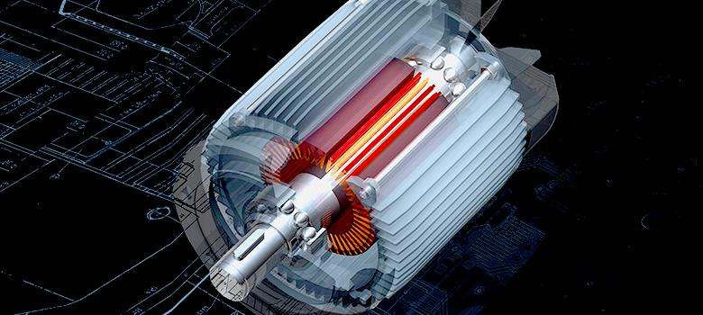Como controlar a velocidade de um motor trifásico