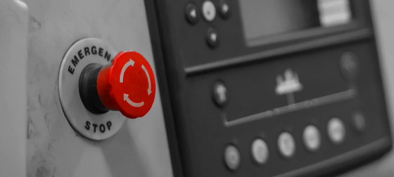 Botão de Emergência