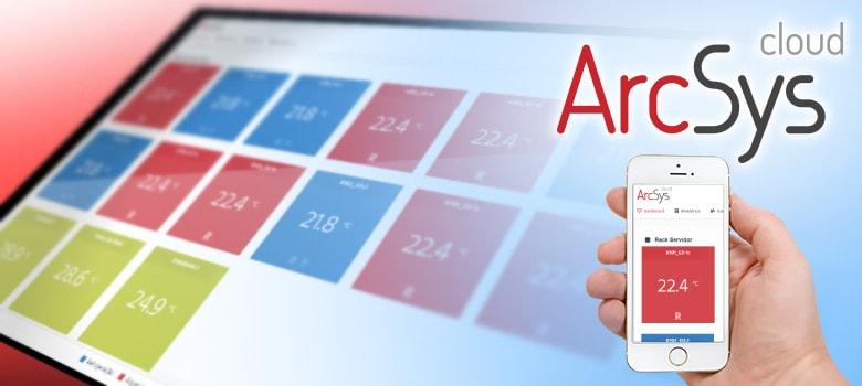 ArcSys Cloud é a nova forma de monitorar a temperatura online