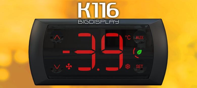 K116 BigDisplay novo controlador para Expositores de Bebidas