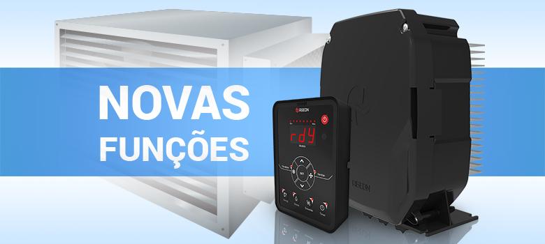 Novas funções do inversor de frequência IRX Pro para climatizador