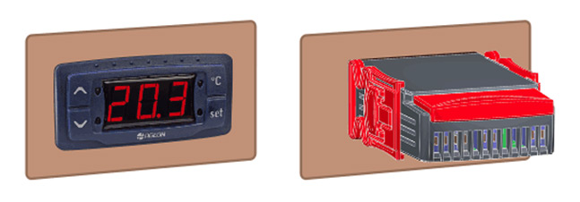 Fixação - Controlador G104 para Resfriadores de Leite