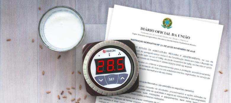 Instruções Normativas 76 e 77: Temperatura na produção de leite