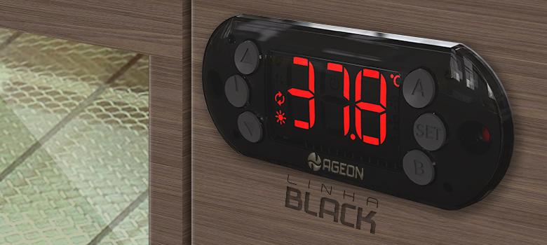 Linha Black A103 PID: novo termostato Ageon para chocadeiras