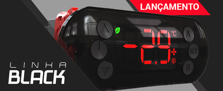 Linha Black: os novos controladores de temperatura da Ageon