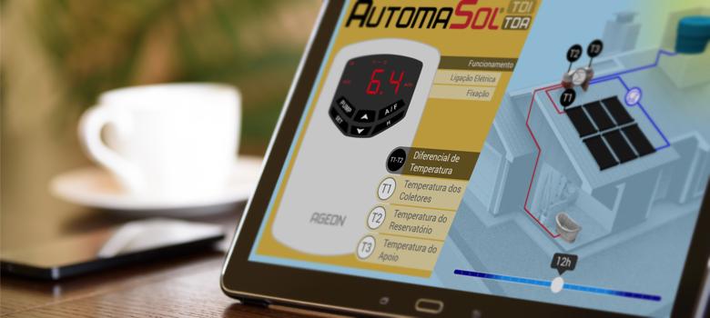 Demonstração interativa: Tudo sobre o AutomaSol para aquecimento solar