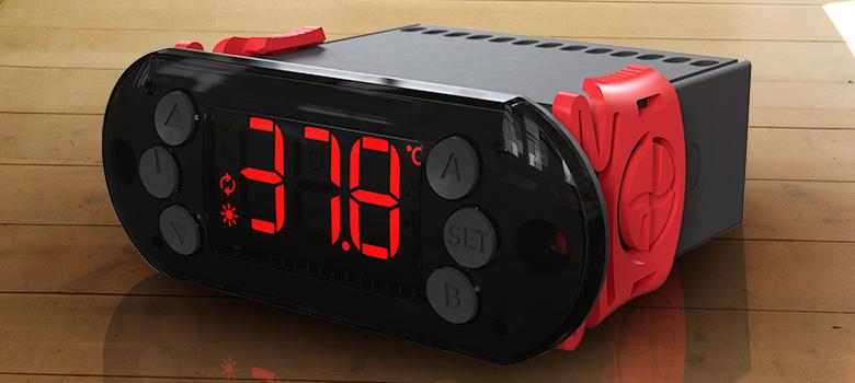 Teclas adicionais do termostato A103 PID para chocadeiras