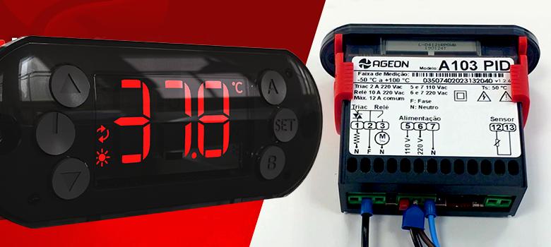 Como instalar o controlador de temperatura A103 PID em Chocadeiras