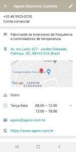 Whatsapp Business para empresas de refrigeração