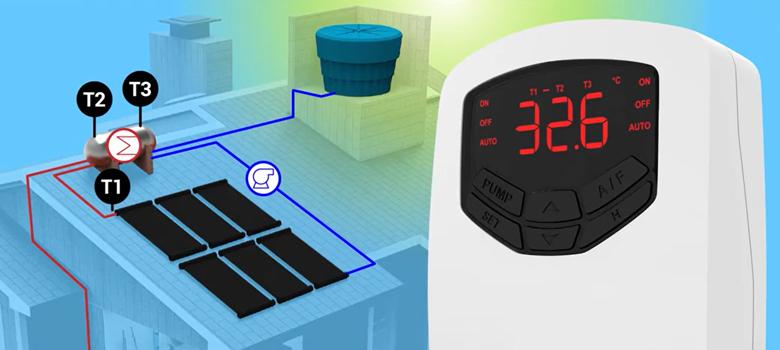 Tudo sobre o controlador diferencial de temperatura AutomaSol TDA