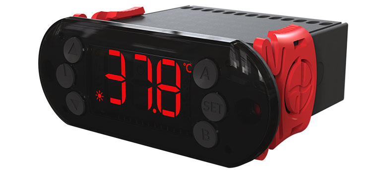 Controlador de Temperatura Linha Black A103 PID para Chocadeiras