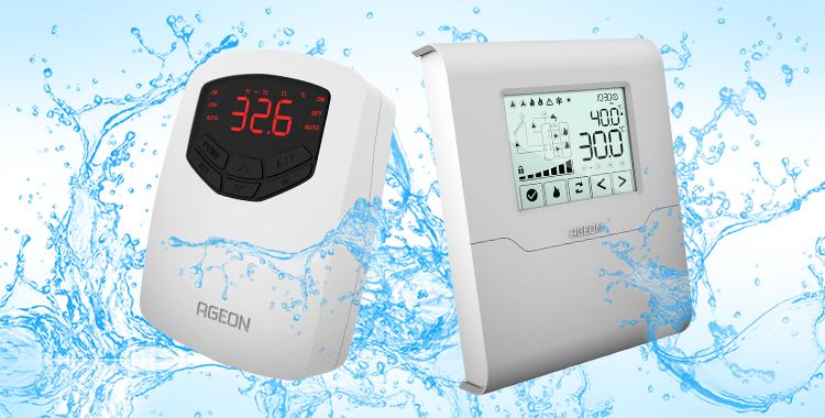 Controladores de temperatura para aquecimento solar AutomaSol e SolarTouch