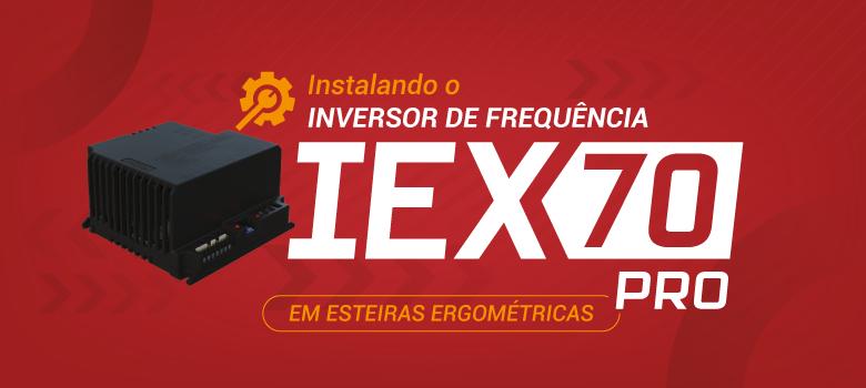 inversor IRX70 Pro destinado para esteiras ergométricas