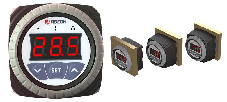 Controlador de temperatura H104 para resfriadores de leite